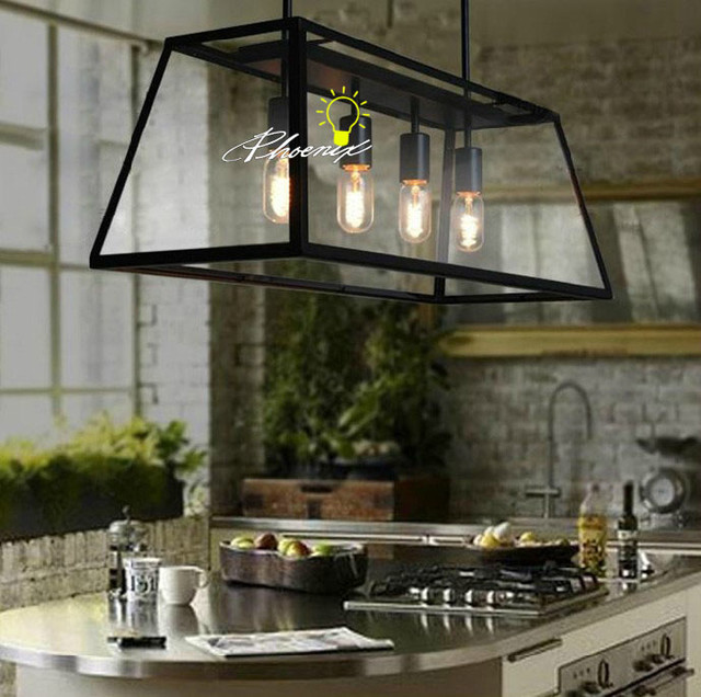 Mini Pendant Lights With Seeded Glass Iron And Glass Pendant Lighting - Contemporary - Pendant