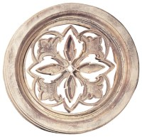 Small Round Palm Grille - Traditional - Outdoor Wall Art ...