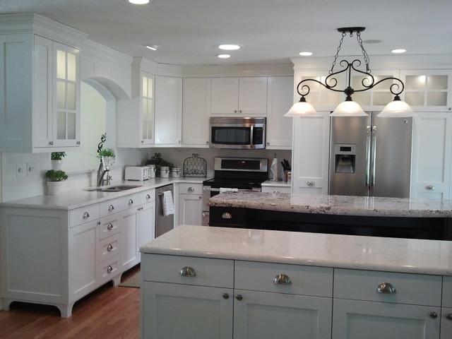 Craftsman style kitchen design image pictures craftsman for Kustom kitchen designs