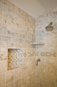 Bathtub Beige Subway Tiles