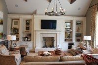 Family Room Built-Ins - Traditional - Living Room ...