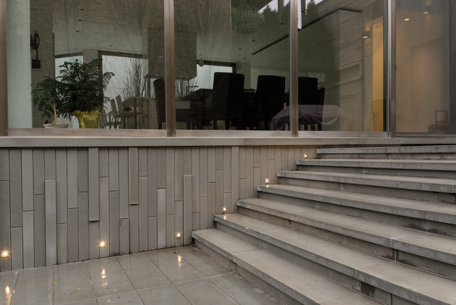 Staircase Hanging Lights Port Led Square Wall / Floor Recessed By Edge Lighting