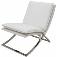 Neo Lounge Chair, White - Contemporary - Armchairs And ...