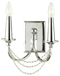 Art Deco Candice Olson Shelby 2-Light Wall Sconce ...