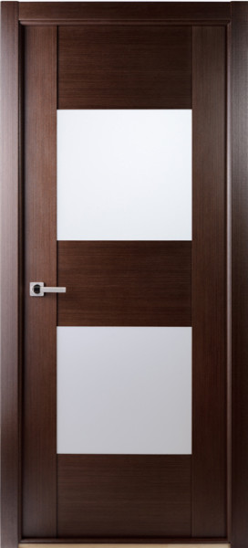 Contemporary african wenge interior single door with