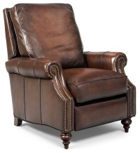 Madigan Leather Recliner Chair - Traditional - Recliner ...