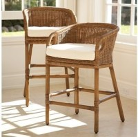 Hospitality Rattan Indoor Rattan & Wicker Bar Stool by OJ ...