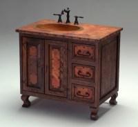 Old World Copper Vanity - Mediterranean - Bathroom ...