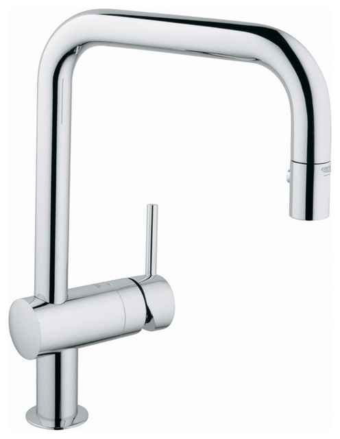 contemporary solid brass kitchen faucet chrome finish faucetsmall contemporary solid brass kitchen faucet chrome finish faucetsmall