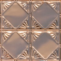 Checkered Deco - Copper Ceiling Tile - #1205 - Traditional ...