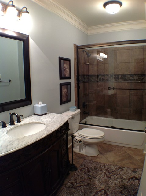 Kitchen Cabinet In Atlanta Kennesaw Basement - Traditional - Bathroom - Atlanta - By