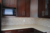 Kitchen Countertop and Backsplash - Modern - Kitchen ...