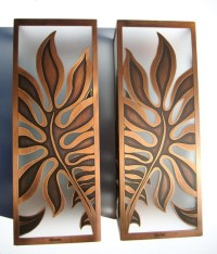 Monstera Sconces - Tropical - Wall Sconces - hawaii - by ...
