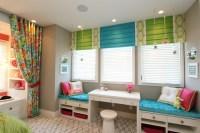 Robeson Design Girls Bedroom Desk Storage Solutions
