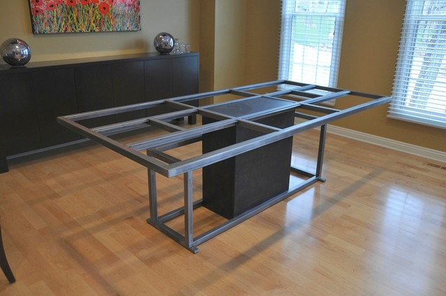Steel table base table tops and bases omaha by