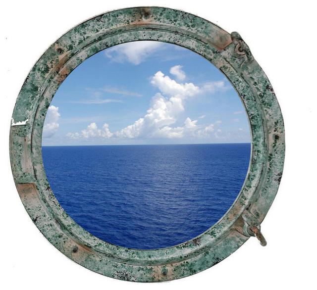 Titanic shipwrecked porthole window 15 porthole decor