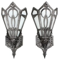 Antique Art Deco Lighting - Eclectic - Wall Sconces ...