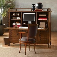 Maria Yee Shinto Office Armoire - Traditional - Desks And ...