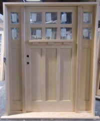 6 Lite Craftsman Shaker - Front Doors - vancouver - by Doorex