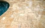 French Pattern Travertine Floor Tile