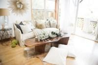 Bohemian Jungle Artist Studio - Beach Style - Living Room ...