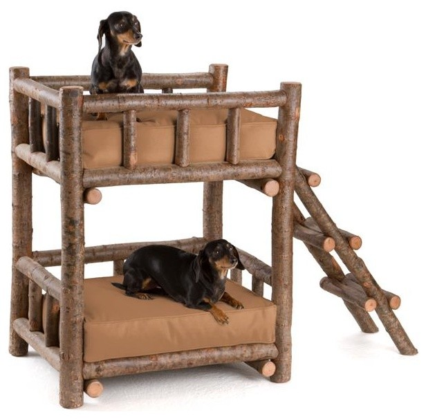 Rustic Dog Bunk Bed 5134 By La Lune Collection Rustic