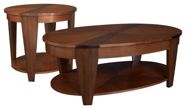 wood oval coffee table traditional coffee tableshayneedle