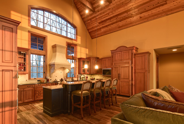 Custom Home Traditional Kitchen Atlanta By