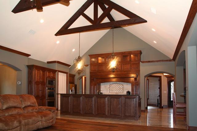 rustic kitchen open concept floor plan traditional kitchen flooring plans home design life styles