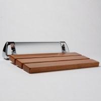 Amerec Steam Shower Seat, Teak - Modern - Shower Benches ...