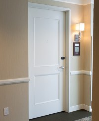 2 Panel Door - Bevel Quirk - Traditional - Entry - chicago ...