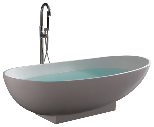 Stand Alone Resin Bathtub