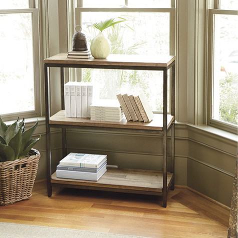 Durham Short Bookcase Industrial Bookcases By
