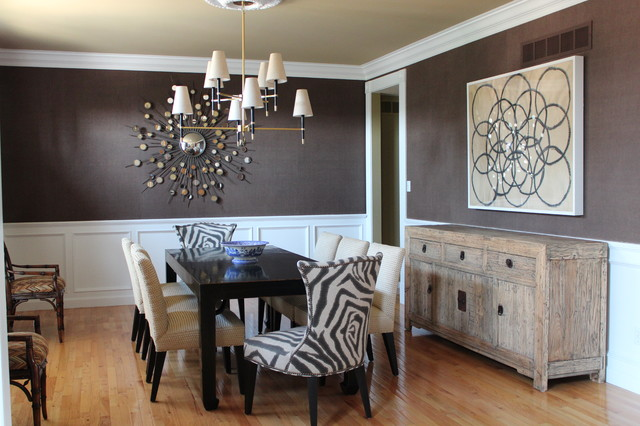 Fancy Dining Room Casually Elegant Dining Room - Contemporary - Dining Room - st louis - by Cure Design Group