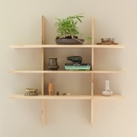 Grid Locking Shelves - Contemporary - Display And Wall ...