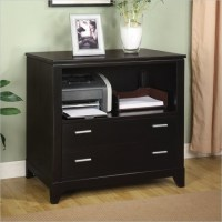 Wynwood Palisade Printer Filing Cabinet in Dark Sable