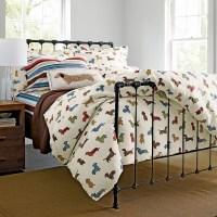 Dog Run Flannel Bedding - Eclectic - Children's Bedding ...