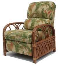 Rattan Recliner | Naples Design - Tropical - Furniture ...