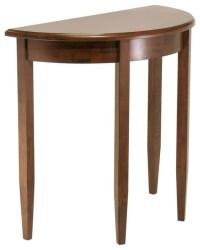 Wooden Half Round Sofa Console Table - Contemporary ...