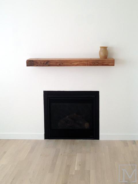 minimalist fireplace farmhouse living room orange county