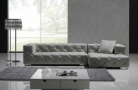 Exclusive Tufted 100% Italian Leather Sectional ...