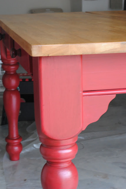 Red Kitchen Table
