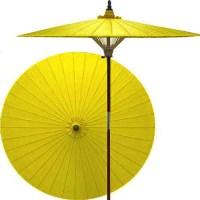 Lemon patio umbrella - Asian - Outdoor Umbrellas - by ...