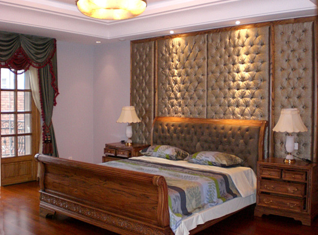 3d Wallpaper For Master Bedroom Faux Leather Wall Panel Modern New York By My Luxury
