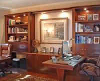 Custom Hardwood Built-in Furniture - Traditional - Home ...