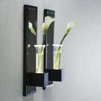 Lala Wall Vase Sconce - Modern - Vases - by Lightology