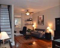 Fairmount Row Home - Contemporary - Living Room ...