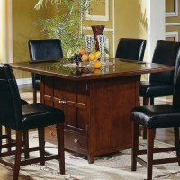 Dining Table Furniture: Granite Dining Table Set