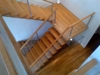 Open Rise ESTN Oak Stairs, Floating Landing, ZX Series ...