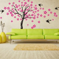 nature wall decals 2017 - Grasscloth Wallpaper